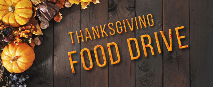 Thanksgiving Food Drive. We need YOU!